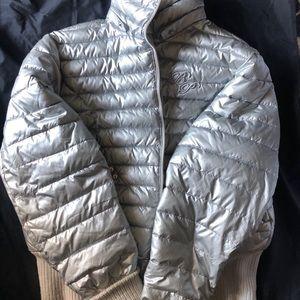 Women's baby phat puffer coat